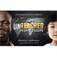 Missions Conference 2015 - Unreached People Groups